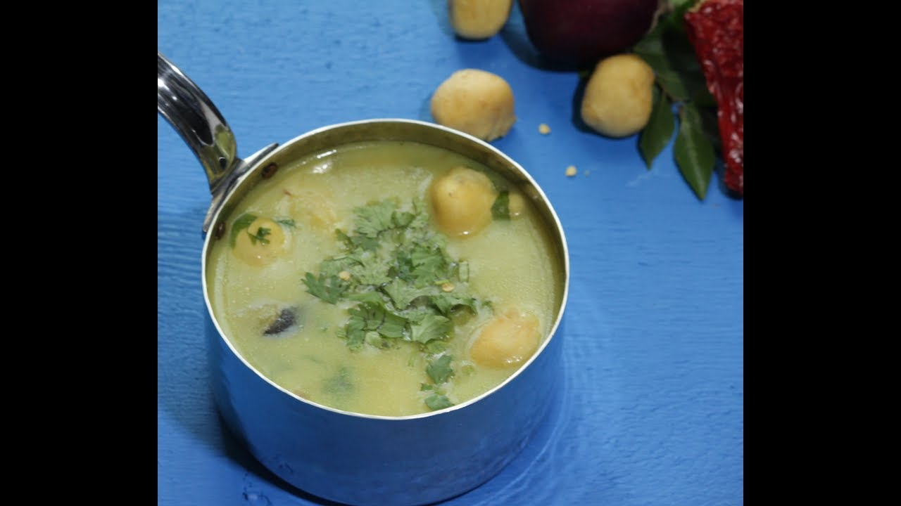 The Lunch Series (Sakhree) l Besan Saag l Gram Flour Curry l Buzzing  Recipes l बेसन की करीl - YouTube