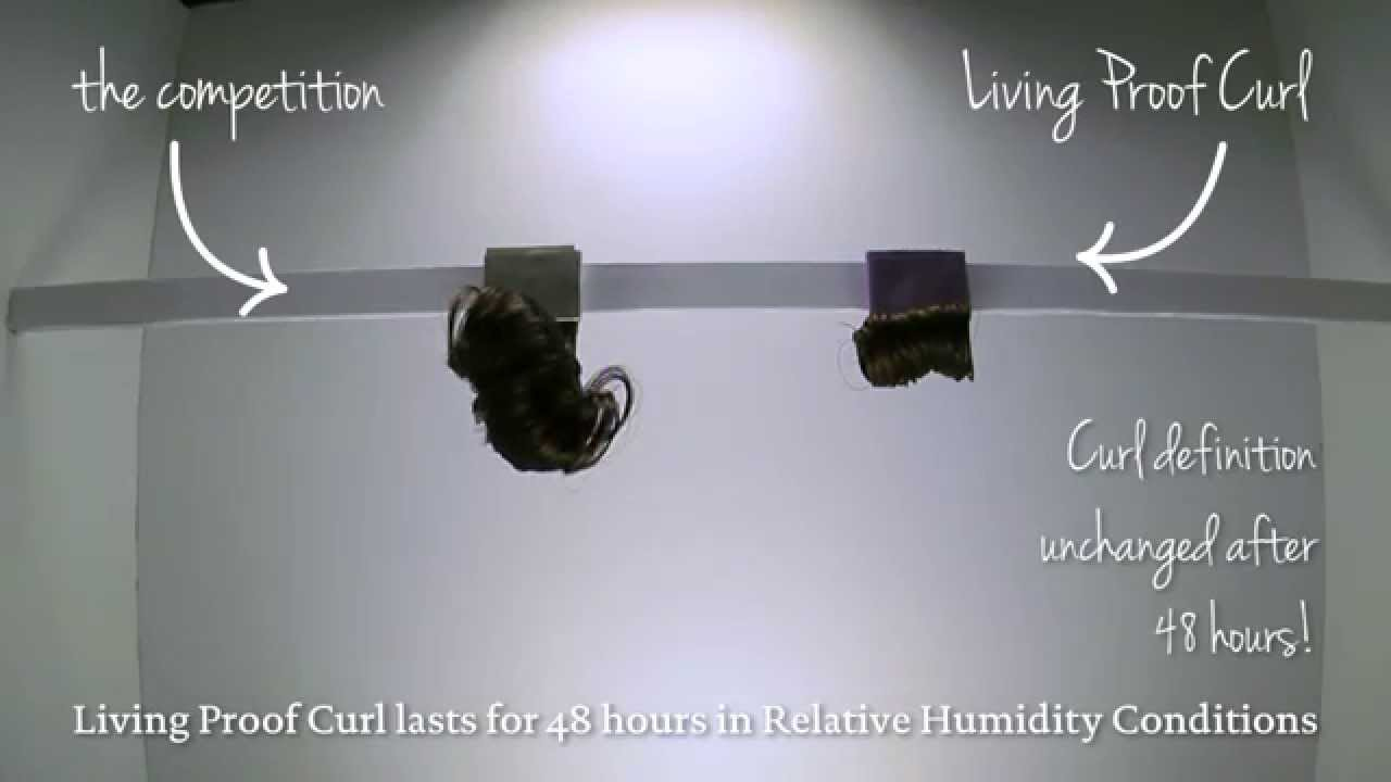 how to keep curls intact from the humity