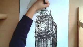 Realistic Drawing: Big Ben