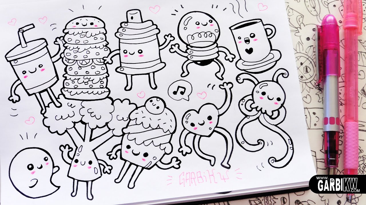 10 Little Drawings For Your Doodles Easy And Kawaii Drawings By