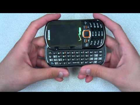 Samsung Intensity 2 Unboxing (Verizon)