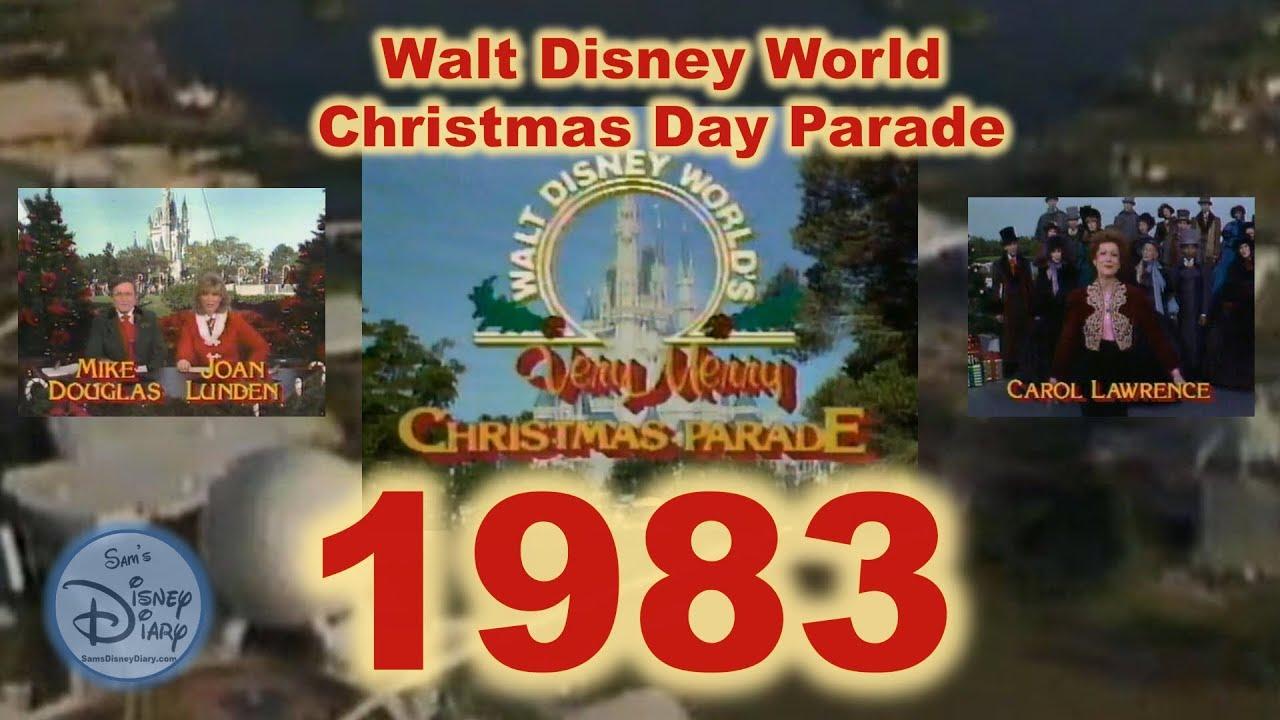 1983 Walt Disney World Christmas Day Parade - YouTube