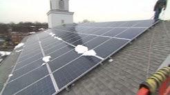 Go solar: Keep a business afloat