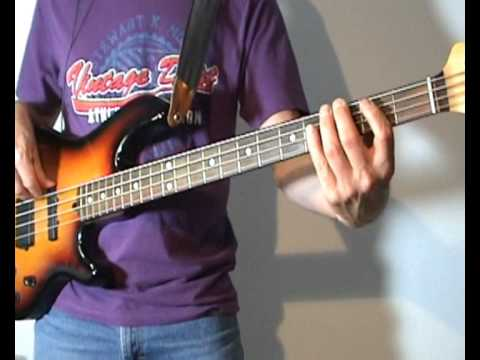 The Rolling Stones - Honky Tonk Woman - Bass Cover