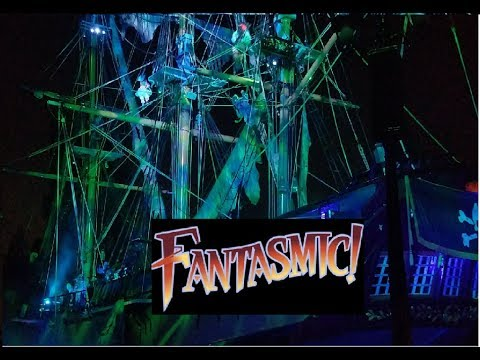 Download Youtube: New Fantasmic FULL SHOW Front Row - July 15 2017 D23 Expo 2017 (Newly Enhanced)