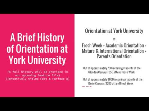 Orientation Safety and Security at York University