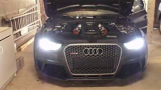 Comment changer une ampoule Xenon Audi RS4 B8
