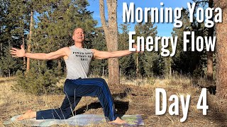 Day 4 - Energy Flow - 7 Day Morning Yoga Challenge
