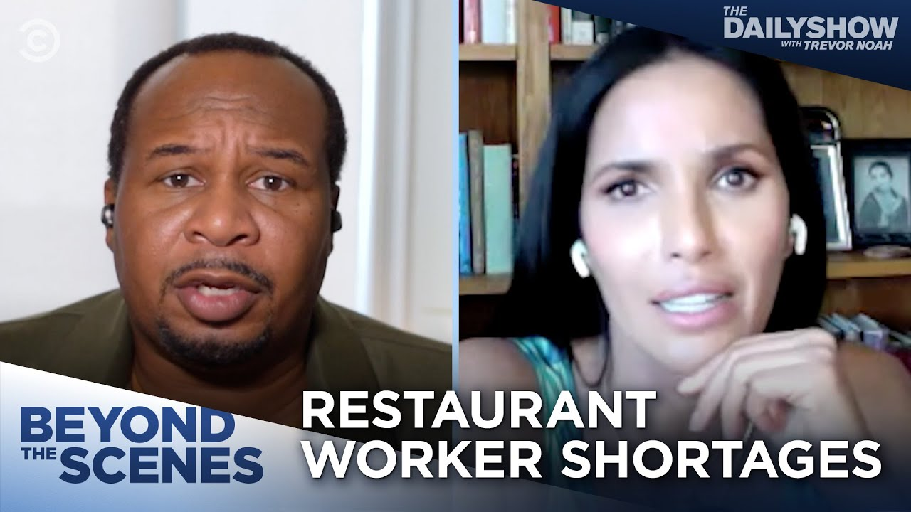 Download Why Aren't Restaurant Workers Returning to Work? (feat. Padma Lakshmi) - Beyond the Scenes