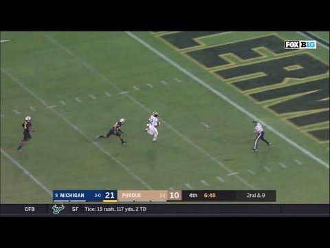 2017: Michigan 28 Purdue 10