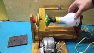 самодельная прялка. Часть 2. Изготовление простой катушки