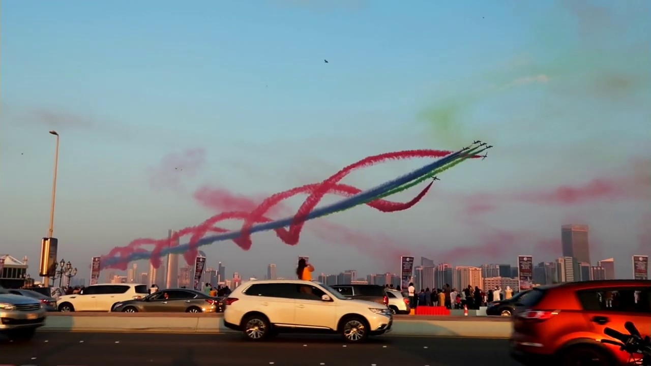48th UAE National Day Air Show Abu Dhabi 2019