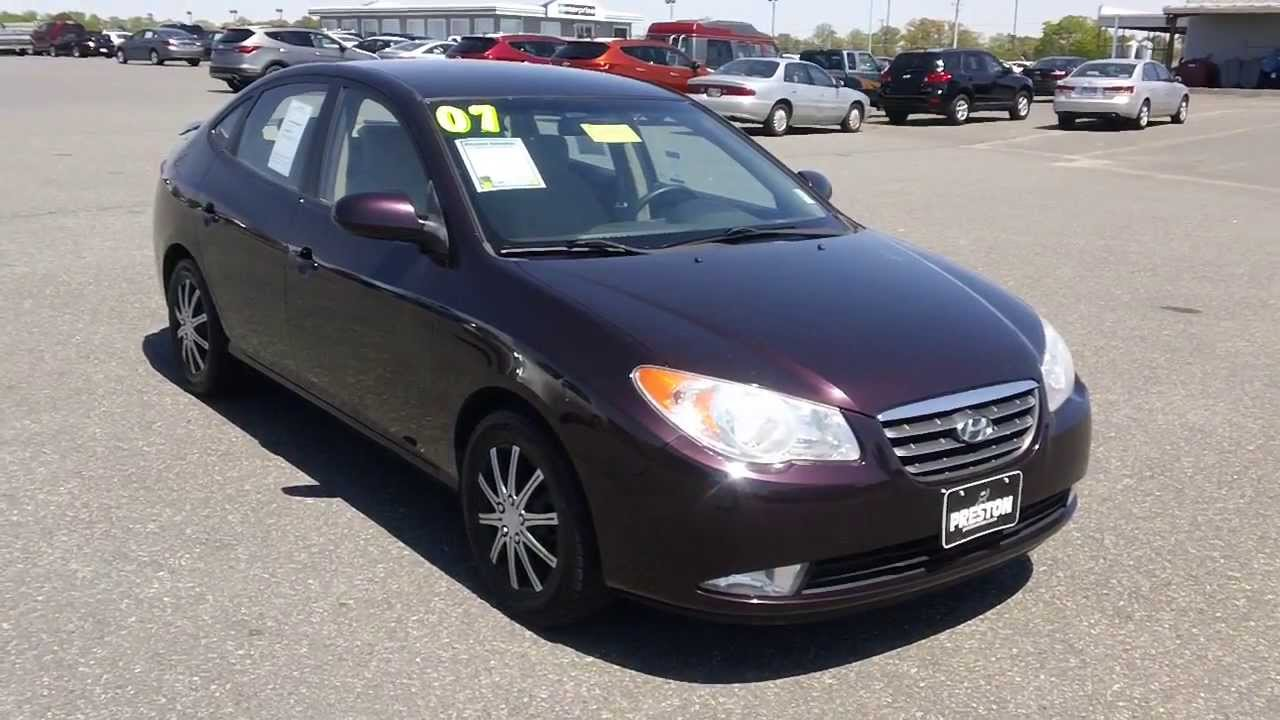cheap used car for sale maryland 2007 hyundai elantra gls youtube. Black Bedroom Furniture Sets. Home Design Ideas