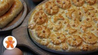 Домашний Пирог и Пирожки с Капустой ✧ Homemade Pie With Cabbage (English Subtitles)