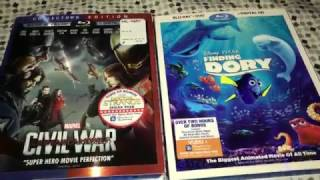 Huge Unboxing Part 2 (Finding Dory and Captain America: Civil War)