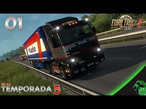 Euro Truck 2 - T5E01 - Empezamos Temporada 5 en 2.0   Gameplay Español