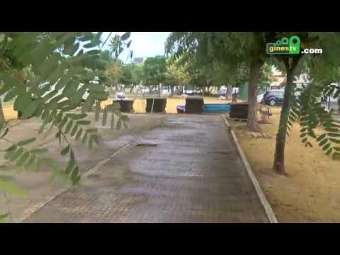 Comienzan los trabajos para renovar los juegos infantiles del parque de Villanueva Sur