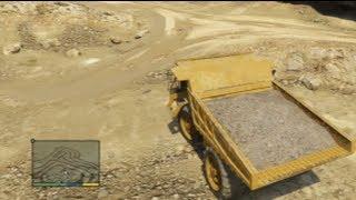 GTA 5 : Tuto&Astuce Le Plus Gros véhicule de Travaux Dans le Jeux !
