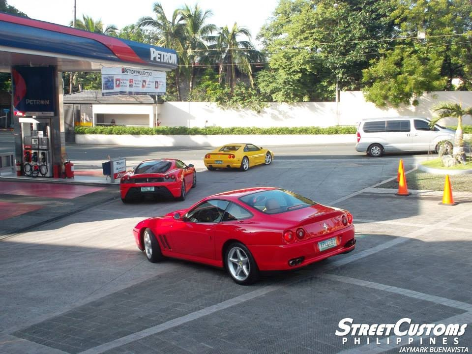 Supercars In Manila F Mustang Ford Gt  F Scuderia Philippines
