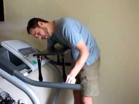 DIY Treadmill Desk