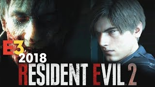 Resident Evil 2 Remake Reaction E3 2018  Sony Conference