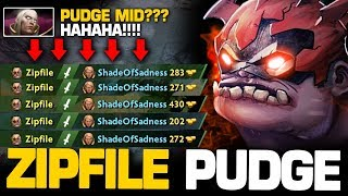 99% INSANE BLIND HOOKS!!! Zipfile Pudge IS BACK 1 vs 9 EPIC GAME | Pudge Official