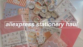 ✏️✒️ huge aliexpress stationery haul #2 (shops + prices)