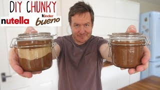 DIY Chunky Nutella & Kinder Bueno Spread | Ask Barry #4