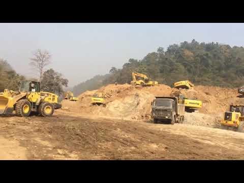 Kathmandu Terai Fast Track Construction Nepal Army   यसरी बन्दै छ फास्ट ट्रायक