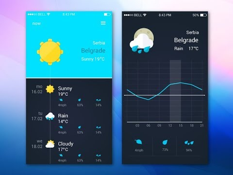 How to make weather app in android studio