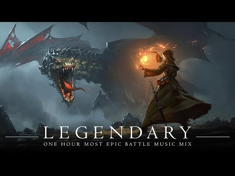 LEGENDARY | MOST EPIC  BATTLE MUSIC | 1 Hour Orchestral Rock Mix | Antti Martikainen