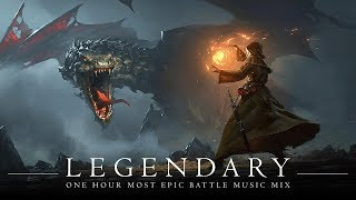 LEGENDARY | MOST EPIC  BATTLE MUSIC | 1 Hour Orchestral Rock Mix