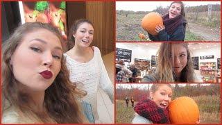 Vlog // Shopping, Sushi & Pumpkin Picking!