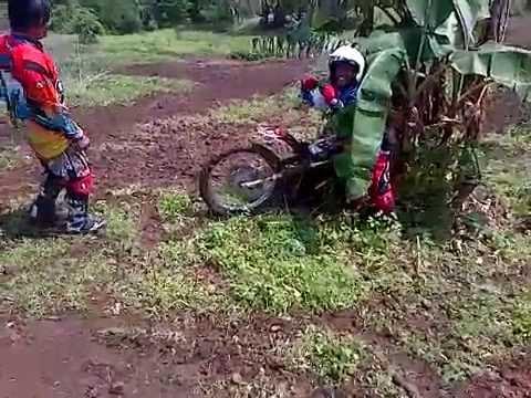 trail adventure culture (HUT KOREM CIREBON) Pa kuwu terjatuh