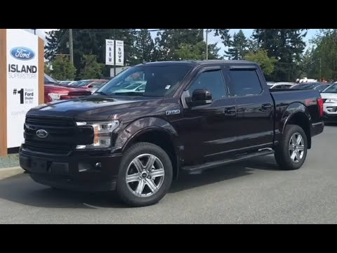 2019 Ford F-150 LARIAT 502A 3.5L SuperCrew Review| Island Ford