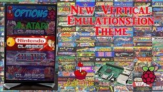 New Vertical Emulation Station Theme