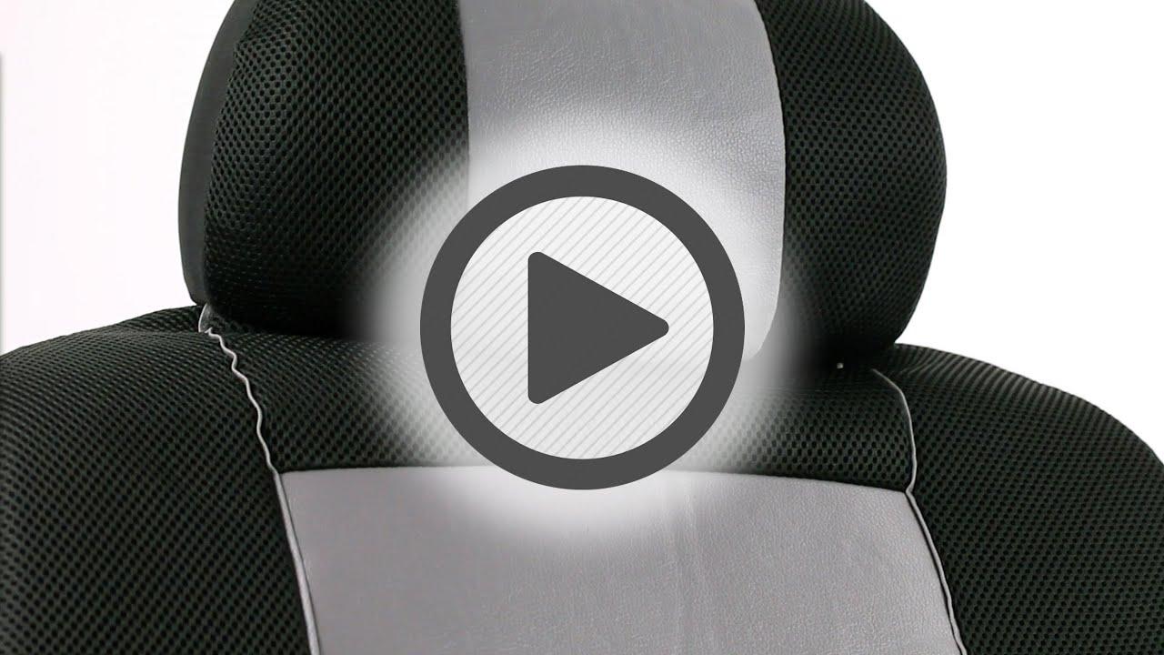 Pilot Automotive Sport Mesh Seat Covers Kit Sc 310g