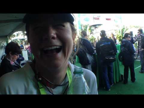 Megyn Price Runs Disneyland Tinker Bell Half Marathon