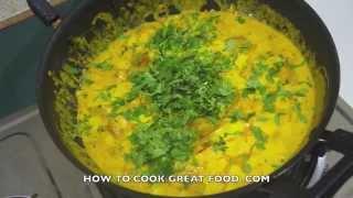 Indian Food - Vegan Tofu Curry Recipe