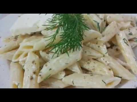 Kremalı Makarna / makarna tarifleri / soslu makarnalar /  çok kolay tarifler