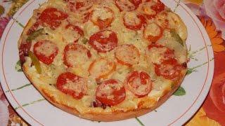 Пицца в мультиварке быстро просто и вкусно