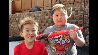 Crushing Baseball Practice | TigerFamilyLife~