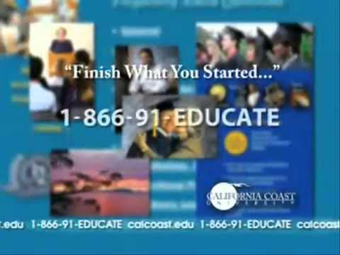 California Coast University  Online Degrees  866 91 EDUCATE 11