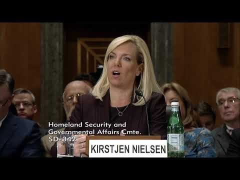 DHS Secretary Nominee Kirstjen Nielsen Confirms Support for STOP Act