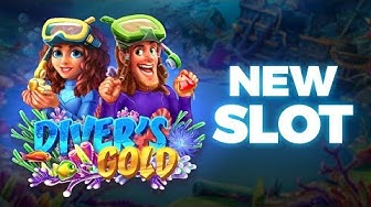 Diver's Gold - A New Slots Game!