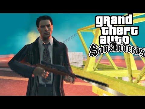 Max Payne в GTA San Andreas! Обзор GTA: Max Payne