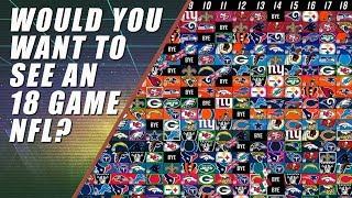 An 18 Game NFL Schedule Will Ruin Football & America