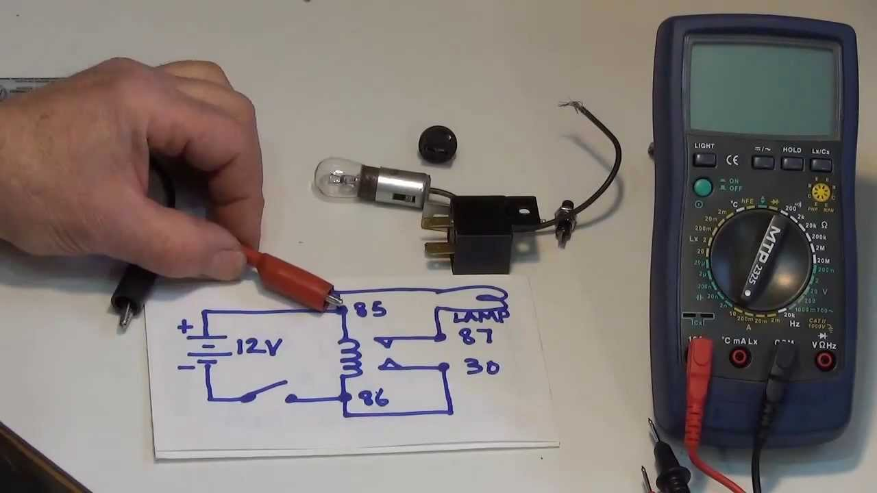 hot rod wiring part 1 the relay theory testing uses