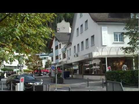 Walking around Liechtenstein