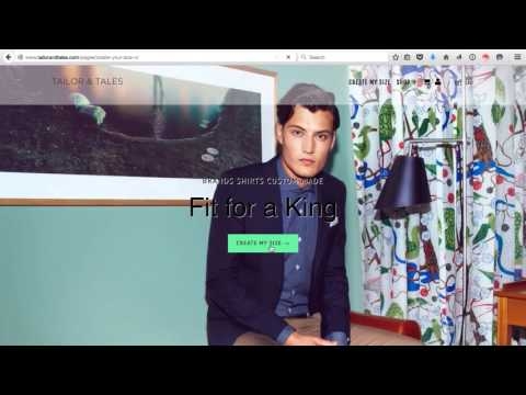 Tailor & Tales: Berlin's E-commerce Startup for individual clothing sizes